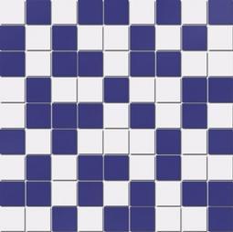 Мозаика Lasselsberger Азур бело-синяя 30х30