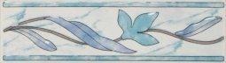 Бордюр Шаxтинская Плитка Венера Голубой 01 20x5.7