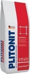 Затирка Plitonit Colorit Premium для швов до 15 мм усиленная армирующими волокнами темно-коричневая 2кг