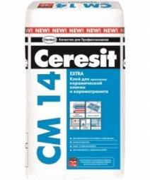 Клей Ceresit CM14 Extra для керамической плитки и керамогранита 5 кг