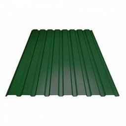 Профнастил С-8 (RAL 6005) зеленый мох 1200х2000х0.4