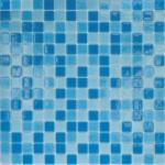 Мозаика Elada Econom на сетке MC123 голубой микс 32.7x32.7