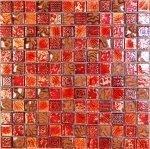 Мозаика Bonаparte Antik-1 красная глянцевая 30x30