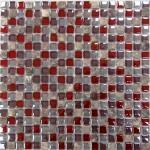 Мозаика Bonаparte Glass Stone 2 красная глянцевая 30x30